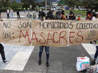 Reportan tres asesinatos en un nuevo ataque en Colombia (imagen referencial)