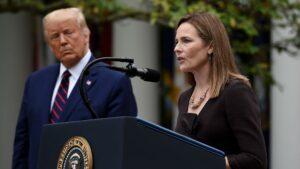 Senado estadounidense confirmó a la jueza propuesta por Trump