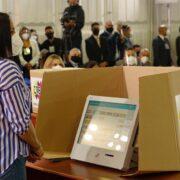 CNE presentó nuevas máquinas de votación para las elecciones legislativas