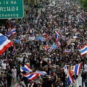 La protesta está conformada por estudiantes que tienen como objetivo reformar la constitución