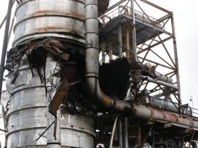 El Aissami: Refinería Amuay fue atacada con un misil a distancia