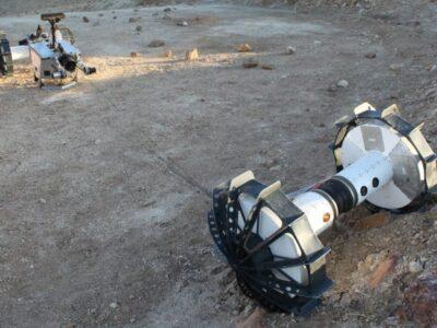 La configuración de cuatro ruedas se presta para recorrer grandes distancias a través de paisajes accidentados