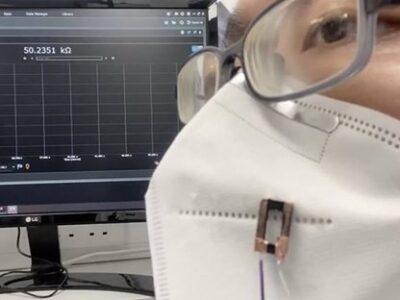 Pueden utilizarse como sensores invisibles para monitorear la salud, o sus dispositivos del Internet y aplicaciones de biosensores