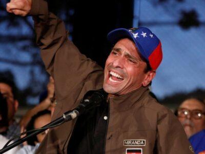 Capriles informó que no participará en los comicios parlamentarios