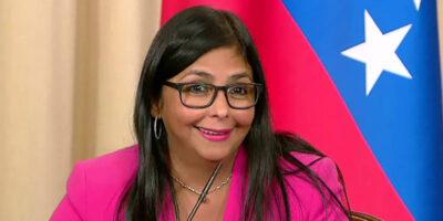 Delcy Rodríguez: Operaciones en divisas deberán pagar un impuesto