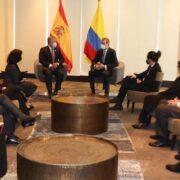 Dicha gestión busca la unión a largo plazo entre el país colombiano y el español