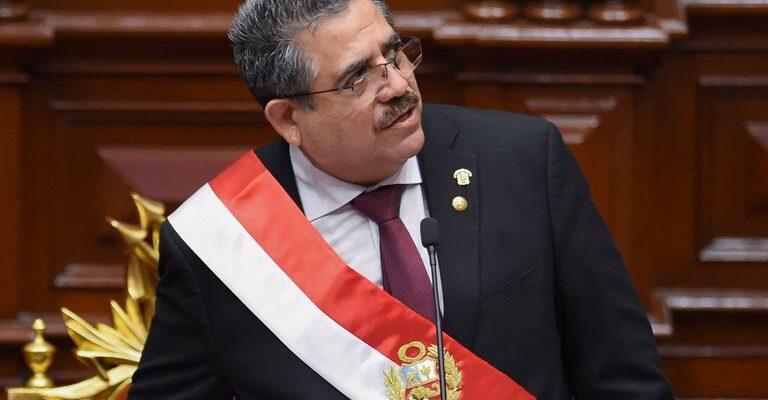 Manuel Merino renunció a la presidencia de Perú