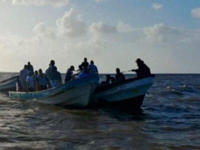 Un total de 16 de los 25 deportados, que llegaron a la isla el 17 de noviembre, son menores de edad
