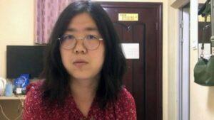 Condenan a periodista china por documentar el brote de COVID-19 en Wuhan