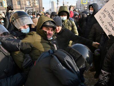 Según un comunicado oficial del ministerio del Interior ruso este fue un evento masivo que se produjo a pesar de las advertencias que el gobierno hizo a los ciudadanos