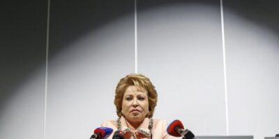 La presidenta del Senado ruso se mostró preocupada sobre esta situación pero expresó que su confianza estaba en la Comisión de Defensa de la Soberanía