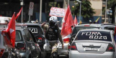 Unas 50 ciudades se unieron a esta manifestación contra el jefe de Estado debido a su postura contra SARS-CoV-2