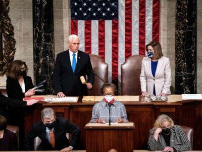 Congreso de EE UU. ratificó oficialmente la victoria Joe Biden