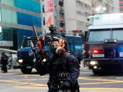 UE pidió la liberación de los detenidos en Hong Kong