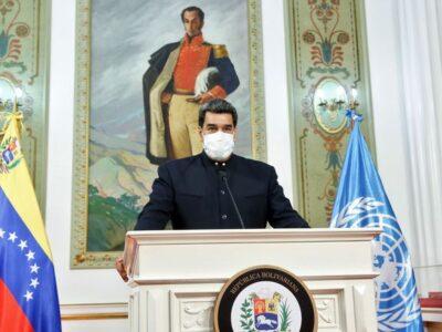 Maduro insistió en el levantamiento de las sanciones en la ONU