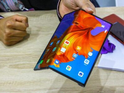 Huawei presentó su nuevo celular plegable