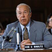 Murió George Shultz, el artífice del fin de la Guerra Fría