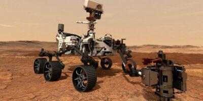 Rover Perseverance de la NASA amartizó con éxito en el cráter Jezero