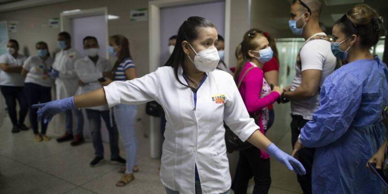 Reportan 593 nuevos casosde contagio por Covid-19