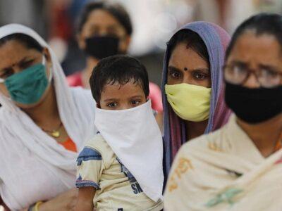 India registra los peores datos desde noviembre por SARS-CoV-2