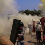 Fallecen ocho personas durante protestas en Birmania