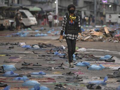 """ONU condenó el """"continuo derramamiento de sangre"""" en Birmania"""