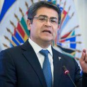 Fiscalía estadounidense señaló al presidente de Honduras de traficar cocaína