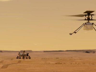 Helicóptero del Perseverance prepara su vuelo sobre Marte