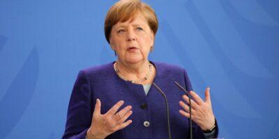 Angela Merkel recibió la primera dosis de la vacuna de Astrazeneca