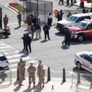 Fallece el sospechoso de ataque contra policías del Capitolio