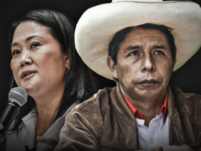 DOBLE LLAVE - Pedro Castillo le gana por casi el doble a Keiko Fujimori, según sondeo