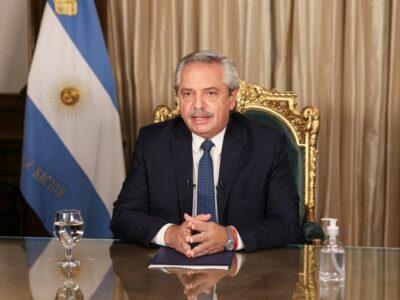 Segunda prueba confirmó el positivo a Covid-19 del presidente argentino Alberto Fernández