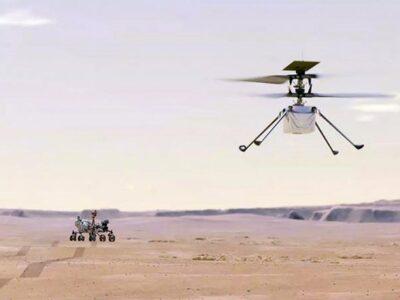 El helicóptero Ingenuity logró volar más lejos en Marte