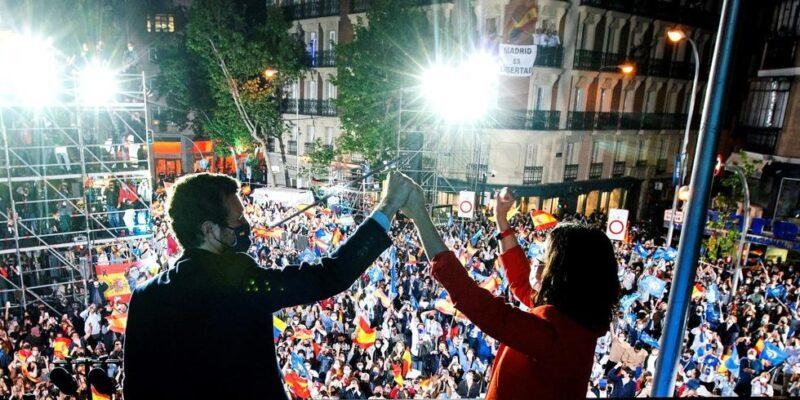 PP ganó las elecciones autónomas en Madrid