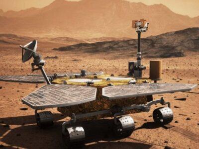 Envían las primeras imágenes del rover chino Zhurong en la superficie de Marte