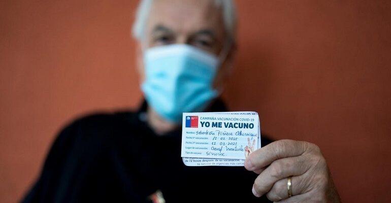 Chile superó el 80% de la población objetivo inmunizada contra el Covid-19