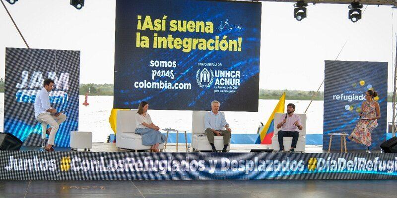 ACNUR elogia ETP colombiano para venezolanos
