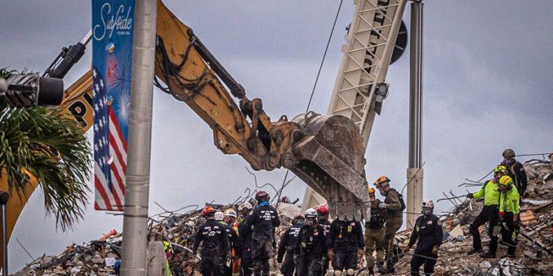 Identifican a otras tres víctimas del desplome de edificio en Miami