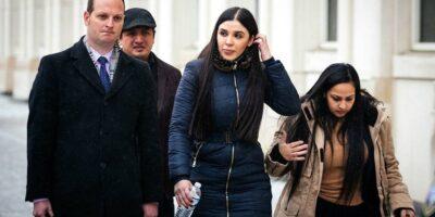 Esposa del Chapo se declaró culpable de tres delitos en EE.UU.