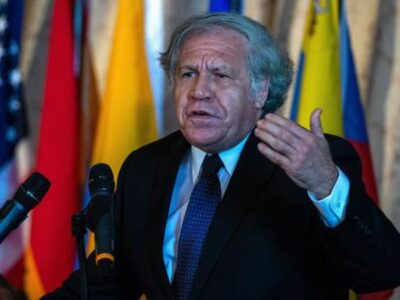 Almagro pidió suspender a Nicaragua de la OEA
