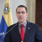 Arreaza expresó que la misión electoral de la UE sería bienvenida