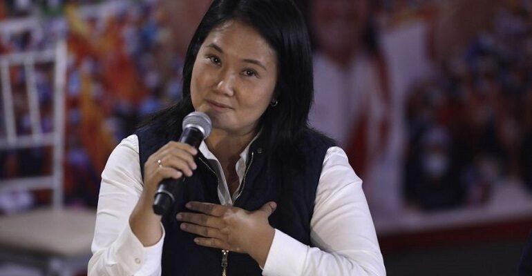 """Keiko Fujimori denunció """"fraude sistemático"""" en las elecciones de Perú"""