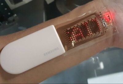 Las pantallas estirables de Samsung se convierten en una segunda piel