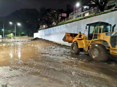 Realizaron una inspección tras desbordamiento de la quebrada Aguachina