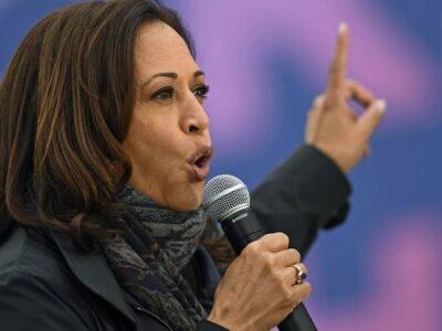 Vox señaló que Kamala Harris reproduce su postura sobre inmigración ilegal