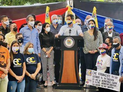 Guaidó llama a protestar para lograr el Acuerdo de Salvación Nacional
