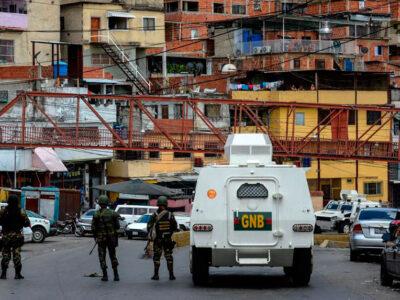 Continúa operativo policial en varias zonas del oeste de Caracas