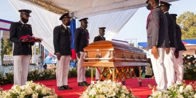 Este viernes se lleva a cabo el velatorio del presidente Jovenel Moise
