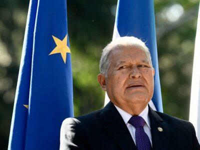 Juez decreta captura internacional de expresidente salvadoreño Sánchez Cerén