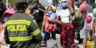 Más de 25.000 migrantes irregulares entraron a Colombia en lo que va de año